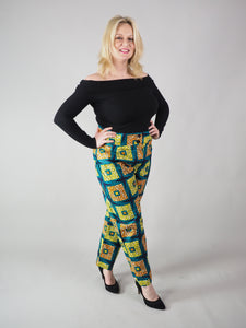 AFRICAN PRINT LADIES' MANDY PANTS