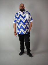 Load image into Gallery viewer, AFRICAN PRINT MEN'S MARLOWE SHIRT