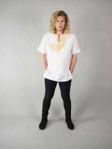 ATRON EMBROIDERED MEN'S SHIRT