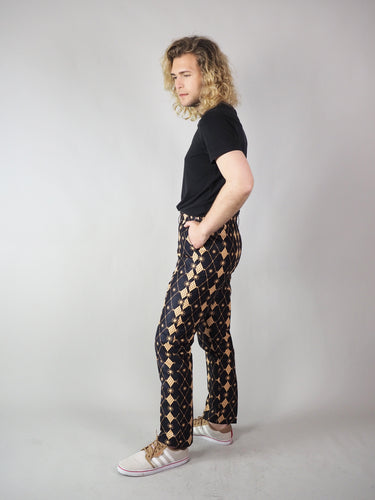 TEGA AFRICAN PRINT MEN'S FORMAL TROUSERS