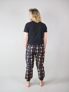 MONOFU AFRICAN PRINT MEN'S TROUSERS