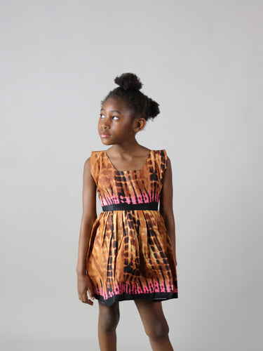 MIYAAN AFRICAN PRINT KIDS DRESS