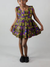 Load image into Gallery viewer, KINIRA AFRICAN PRINT KIDS DRESS