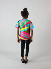 Load image into Gallery viewer, NOSHEN AFRICAN PRINT KIDS SHIRT
