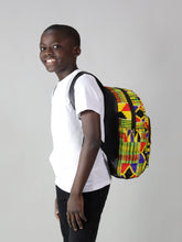 Load image into Gallery viewer, SUNU HANDMADE AFRICAN PRINT BACK PACK