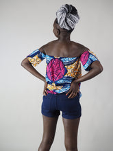 Load image into Gallery viewer, AFRICAN PRINT OFF-SHOULDER STACY TOP