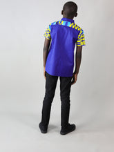 Load image into Gallery viewer, LITTI AFRICAN PRINT BOYS SHIRT