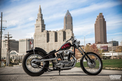Lowbrow Spotlight: George Keeler's 1968 Harley-Davidson XLCH 900 Built By Terminal Speed - Lowbrow Customs