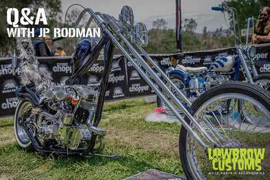 Lowbrow Customs Presents: Q&A With Jp Rodman