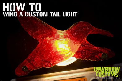 How to: Wing a Custom Taillight (cast a custom tail light lens!)