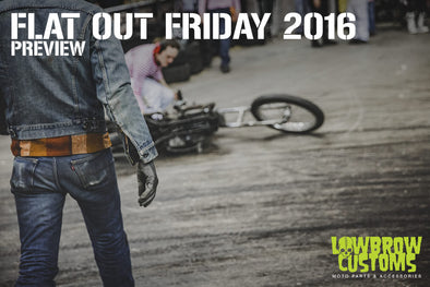 Lowbrow Customs Preview Of Flat Out Friday Racing