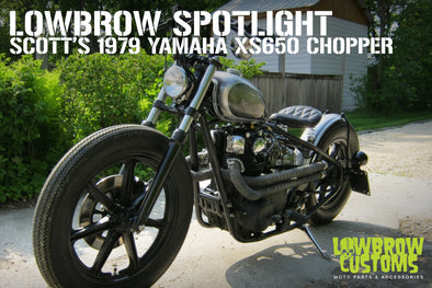Lowbrow Spotlight: Scott's 1979 Yamaha XS650