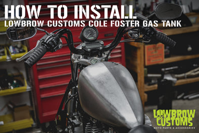 How To Install: Cole Foster Gas Tank On A Harley-Davidson Sportster