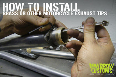 Brass Or Other Exhaust Tip Installation How-to