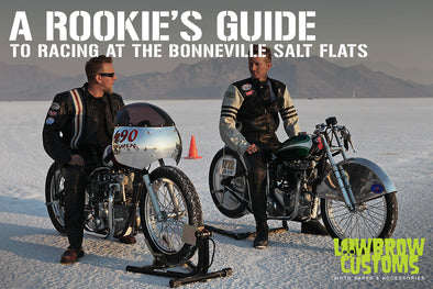 A Rookies guide to motorcycle racing at bonneville Salt Flats