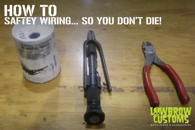 How to safety Wire stuff so you dont die!