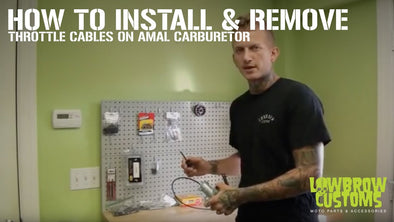 VIDEO: How to Install & Remove Your Amal Carburetor Throttle Cable