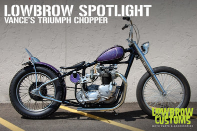 Lowbrow Spotlight: Vance's Triumph Chopper