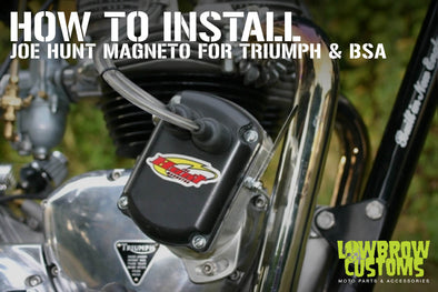 How to install a Joe Hunt Magneto for Triumph and BSA