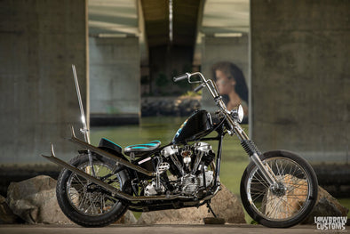 Lowbrow Spotlight: Brent Maggard's 1947 Harley-Davidson FL Knucklehead - Lowbrow Customs