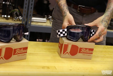 Biltwell Moto Goggles Video Product Review