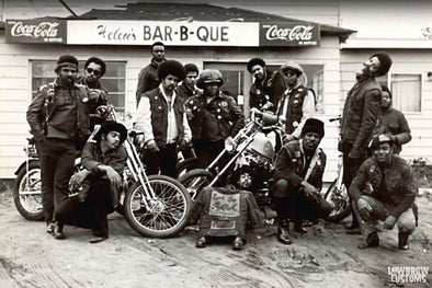 Black Biker History - Choppers And Motorcycle Clubs - Lowbrow Customs
