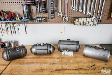 VIDEO: Comparison and Review of Chopper Oil Tanks for Custom Motorcycles