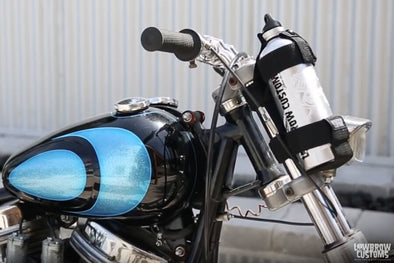 VIDEO: Lowbrow Customs Fuel Reserve Bottle & Carrier