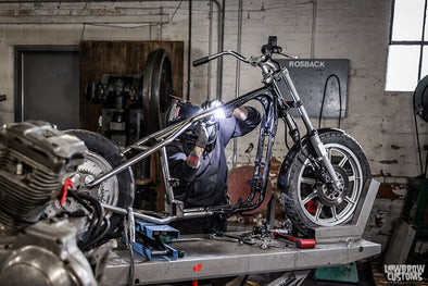 How-To Install: Lowbrow Customs 1982-2003 Harley-Davidson Sportster Hardtail