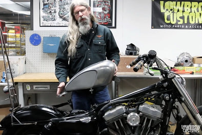 VIDEO: How To Install the Blackbird Legacy Gas Tank on a Harley-Davidson Sportster