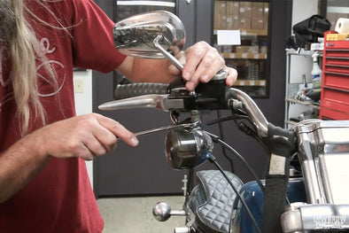 VIDEO: How To Install New Mirrors On Your Harley-Davidson Sportster (And Most Other Motorcycles!)