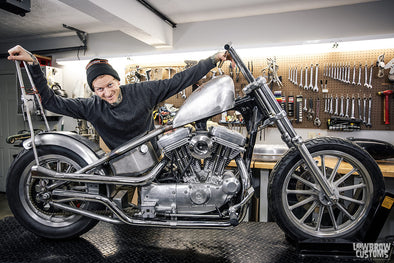 VIDEO: I Cut My Harley-Davidson Sportster In Half, Hard-tailed It To Build A Chopper, But Now What Do I Do?