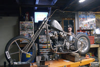 VIDEO: Chopper Gas Tank Install How To - Ian Olsen's Shovelhead Build Part 3 with Geared Science