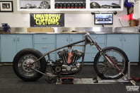 Panhead Jim Builds A Sportster Chopper - Part 4