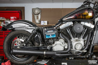 How to Install Lowbrow Customs 2 Into 1 Supermeg Exhaust by Kerker Harley-Davidson
