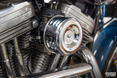 How To Install: Lowbrow Customs Louvered Air Cleaner for CV Carburetors on Harley-Davidson Sportster