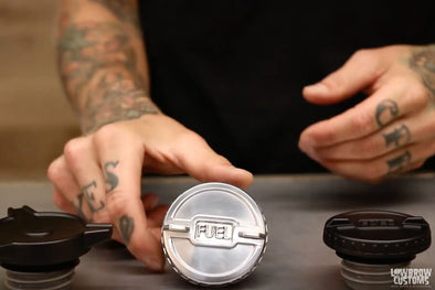 VIDEO: Lowbrow Competition and Spinner Gas Caps for Harley-Davidson & Modern Triumphs Product Overview
