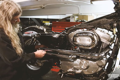 VIDEO: How To Install Shotgun Exhaust Pipes on a 2004 & later Harley-Davidson Sportster