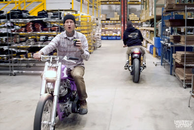 VIDEO: Lowbrow Customs - We Ride.
