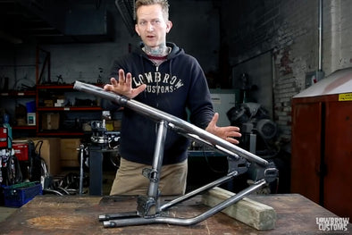 VIDEO: Review Weld-On Hardtail Rear Frame Section for 1982-2003 Harley-Davidson Sportsters