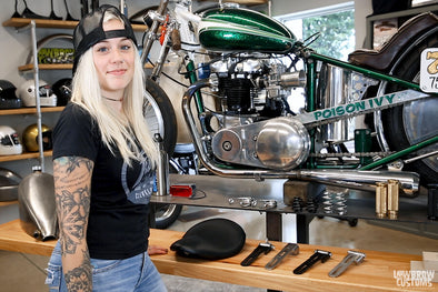 Video: Overview - Lowbrow Customs Solo Seat Hinge / Pivots for Custom Choppers and Bobbers