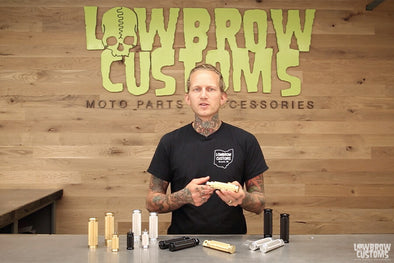 Video: Lowbrow Customs - Pursuit Grips and Pegs for Custom Harley-Davidsons Choppers & Bobbers