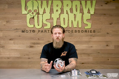 VIDEO: Lowbrow Customs Louvered Air Cleaner for Cv & S&S Super E & G Carburetors - Review