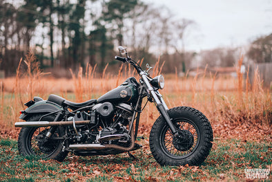 Lowbrow Customs Spotlight-Annette LaRue's 1958 Harley-Davidson FLH Duo Glide Panhead-Liam Kennedy Photos