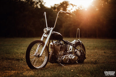 Lowbrow Spotlight: Meet Ken Carvajal And His Custom 1962 Harley-Davidson FL Panhead Chopper