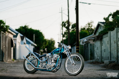"Lowbrow Spotlight: Meet Ben ""The Boog"" Zales and His 1963 Harley-Davidson Panhead Chopper"