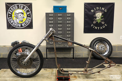 Panhead Jim Builds A Sportster Chopper - Part 3