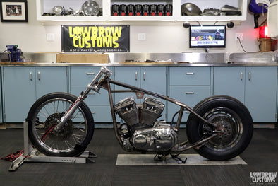 Panhead Jim Builds A Sportster Chopper - Part 5