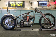 Panhead Jim Builds A Sportster Chopper - Part 7