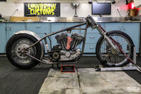 Panhead Jim Build's A Sportster Chopper - Part 6